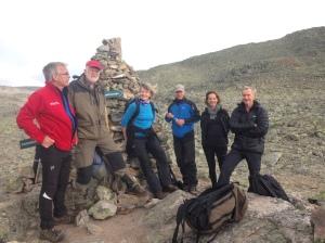 Veiledningsgruppa nådde toppen både på Hallingskarven og i veiledningen