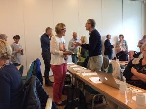 Pausene på NORSAM årsmøtekurs skaper ivrige diskusjoner
