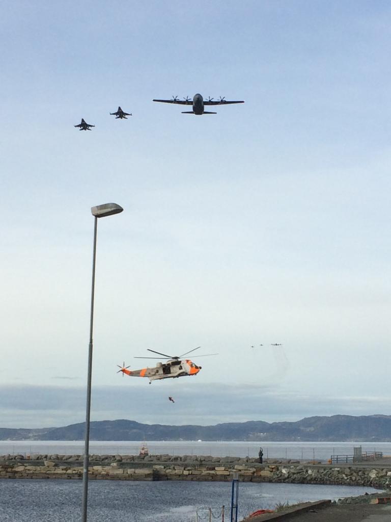 Luftforsvaret viste seg fram på Veteranskonferansen