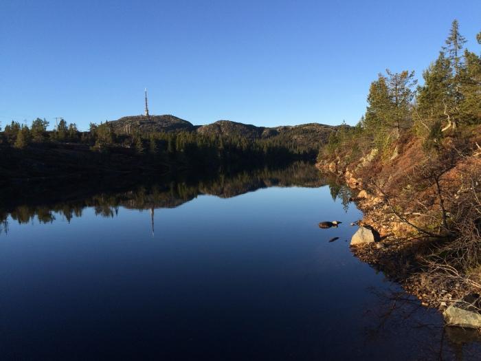 November på sitt beste på Knutefjellet og Kongsberg